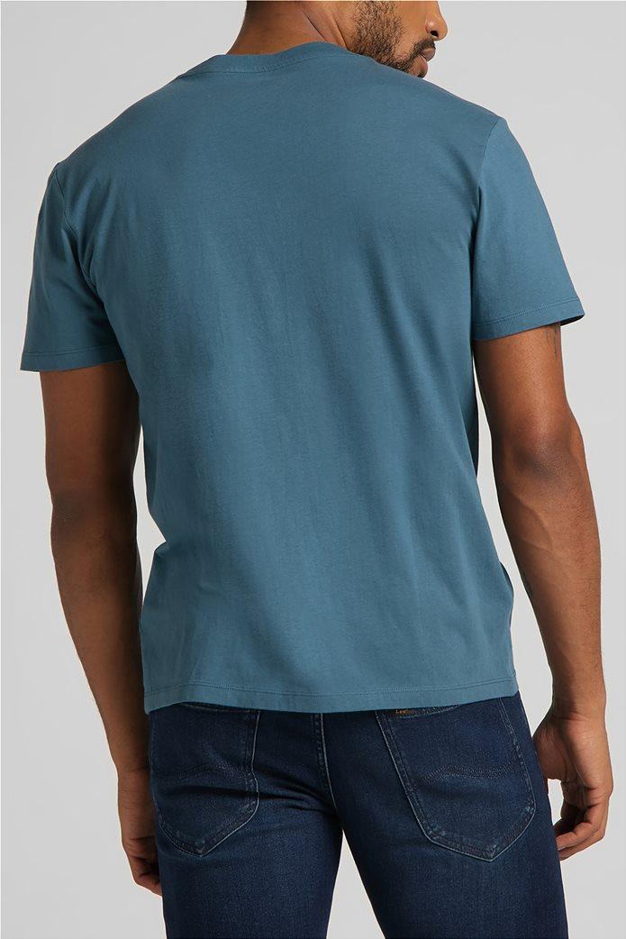 Lee ανδρικό Τ-Shirt με logo print ''Wobbly'' 1