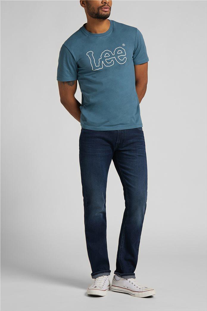Lee ανδρικό Τ-Shirt με logo print ''Wobbly'' 3