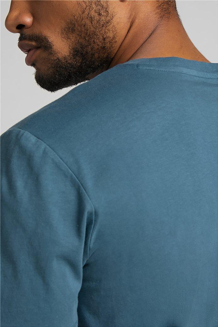 Lee ανδρικό Τ-Shirt με logo print ''Wobbly'' 4