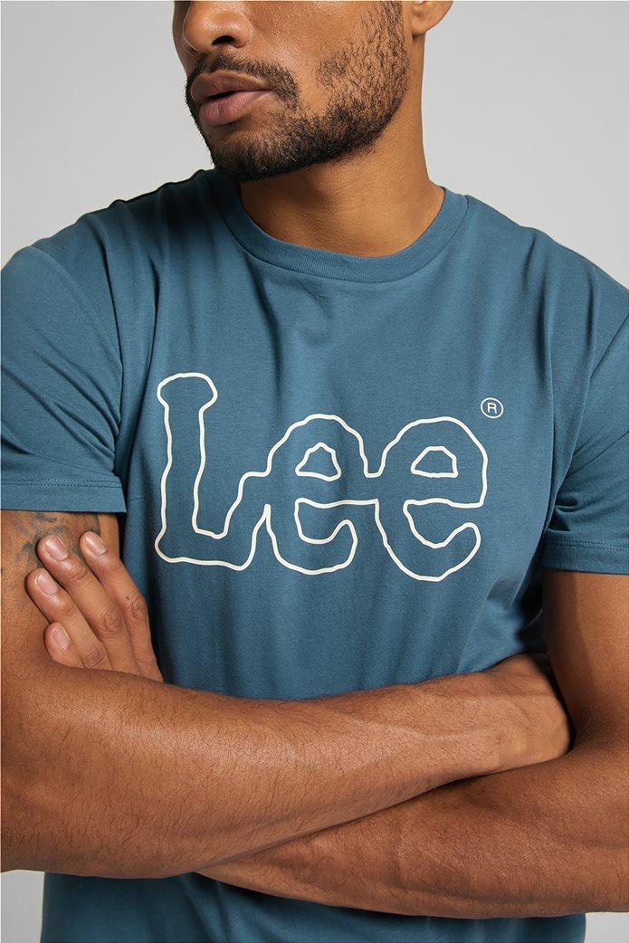 Lee ανδρικό Τ-Shirt με logo print ''Wobbly'' 5
