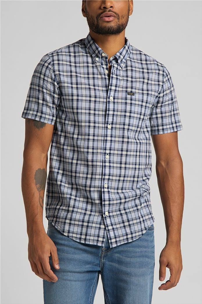 Lee ανδρικό πουκάμισο με καρό σχέδιο 0