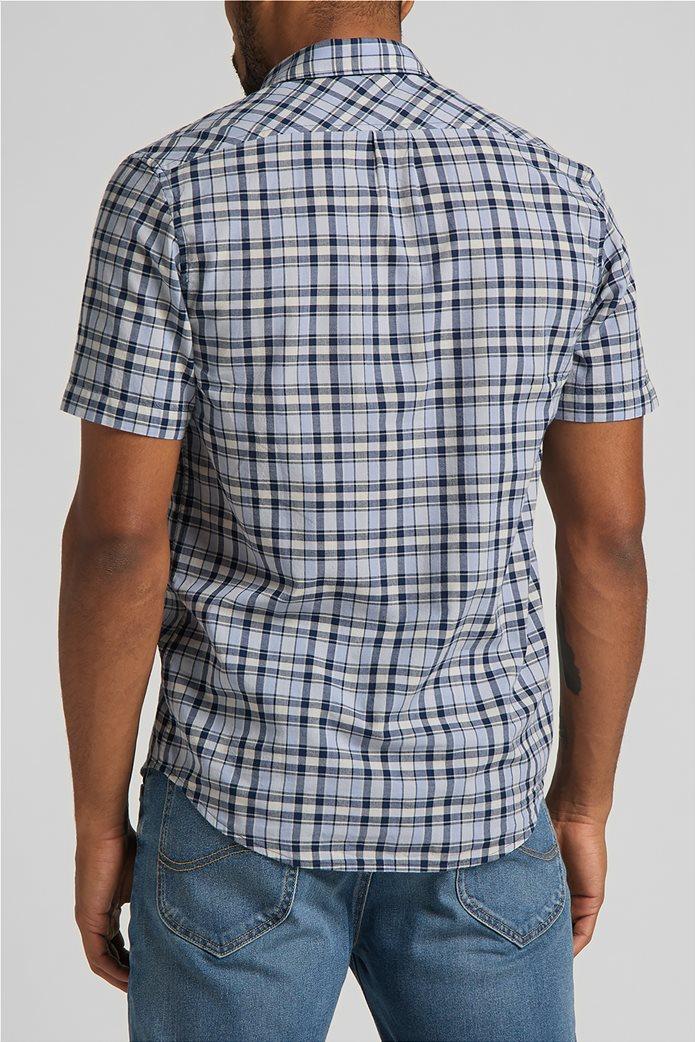 Lee ανδρικό πουκάμισο με καρό σχέδιο 1