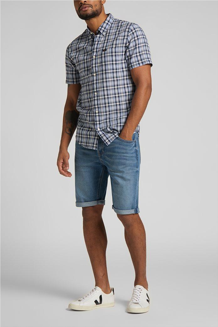Lee ανδρικό πουκάμισο με καρό σχέδιο 3