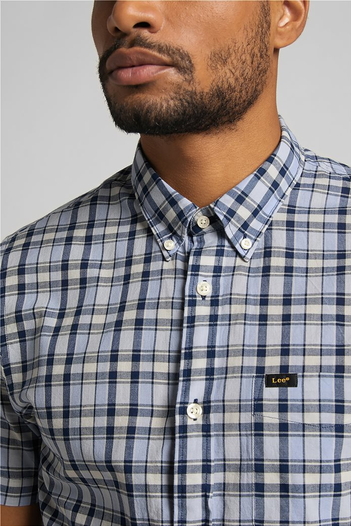 Lee ανδρικό πουκάμισο με καρό σχέδιο 5