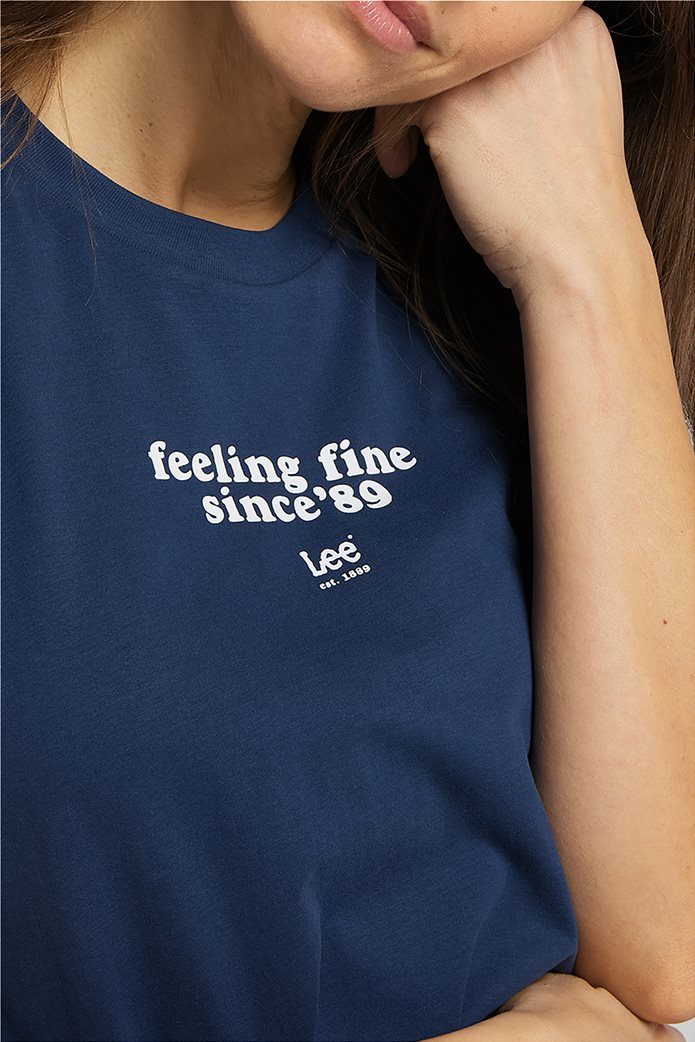 Lee γυναικείο T-Shirt με letter print 3