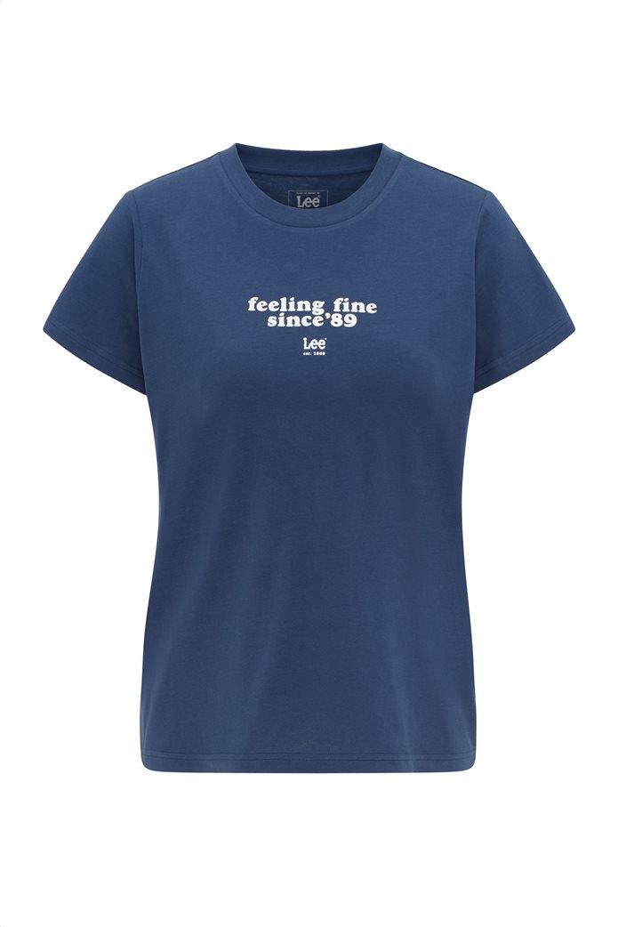 Lee γυναικείο T-Shirt με letter print 5
