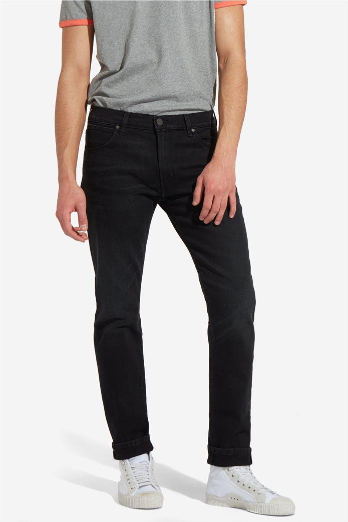 Wrangler ανδρικό τζην παντελόνι Larston Black Hook 0