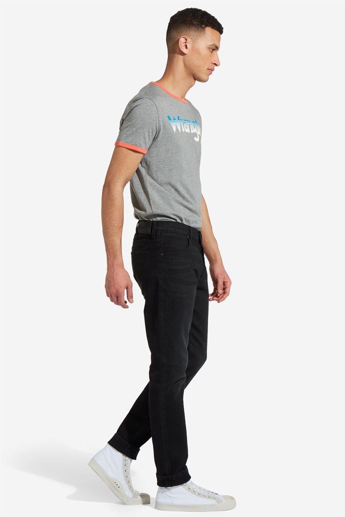 Wrangler ανδρικό τζην παντελόνι Larston Black Hook 1