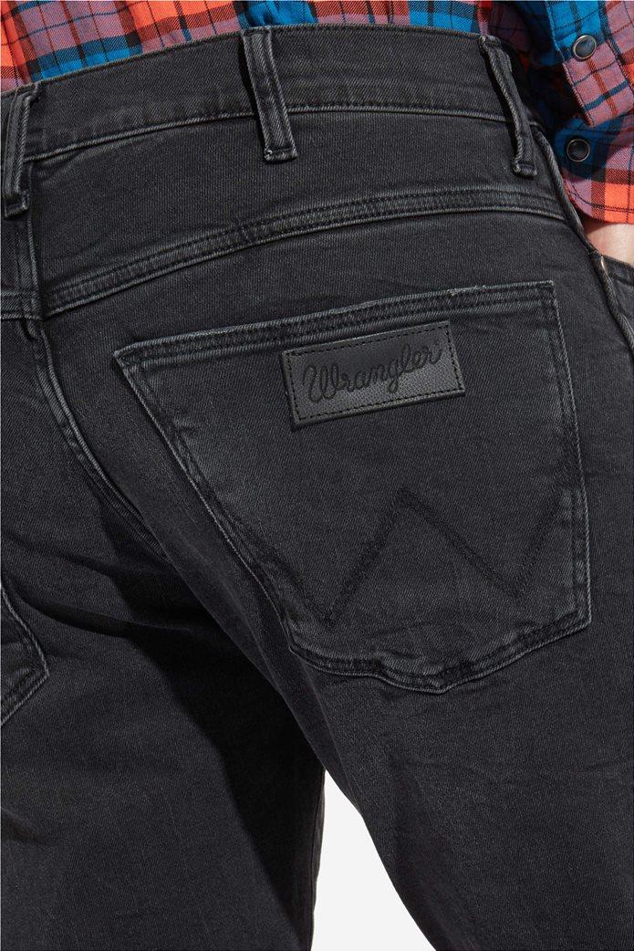 Wrangler ανδρικό τζην παντελόνι Spencer Black Steam 3