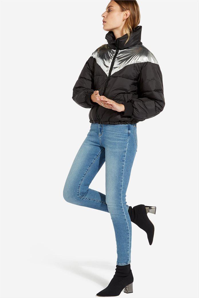 Wrangler γυναικείο μπουφάν καπιτονέ Metallic Puffer 1