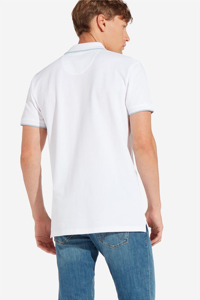 Wrangler ανδρική μπλούζα PoloWhite 2