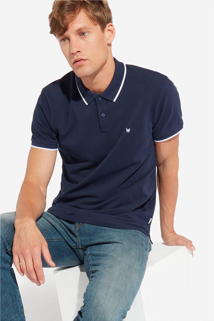 Wrangler ανδρική μπλούζα PoloNavy 0