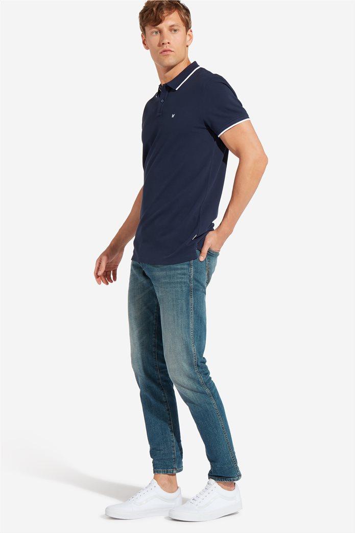 Wrangler ανδρική μπλούζα PoloNavy 1
