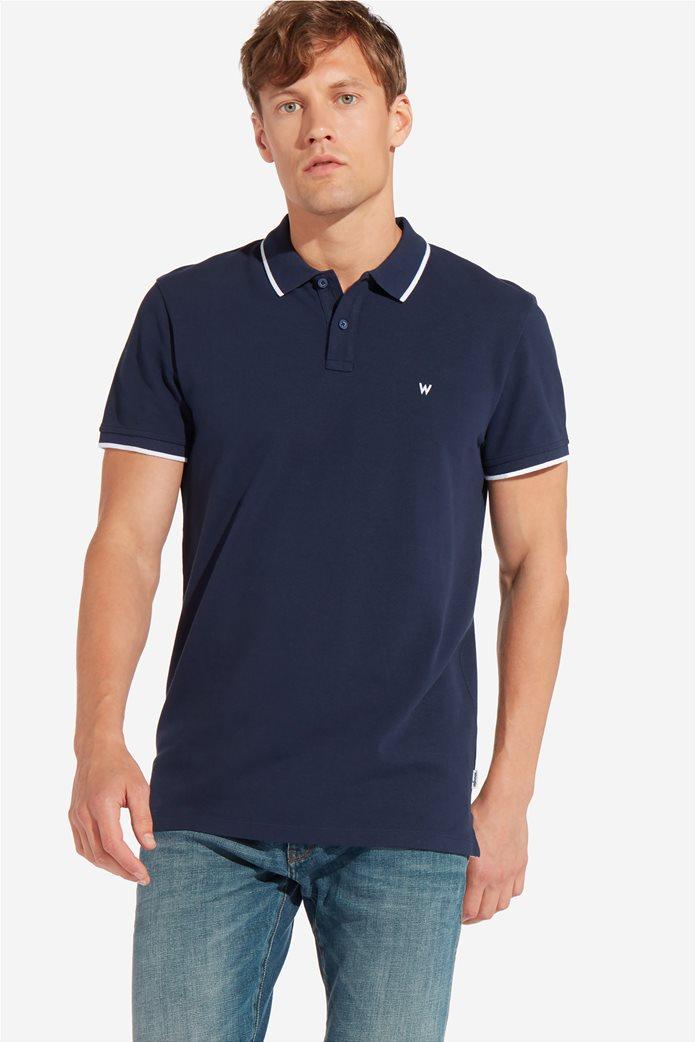 Wrangler ανδρική μπλούζα PoloNavy 2