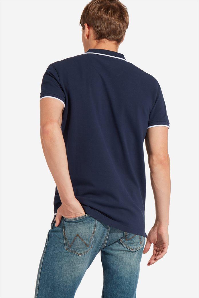Wrangler ανδρική μπλούζα PoloNavy 3