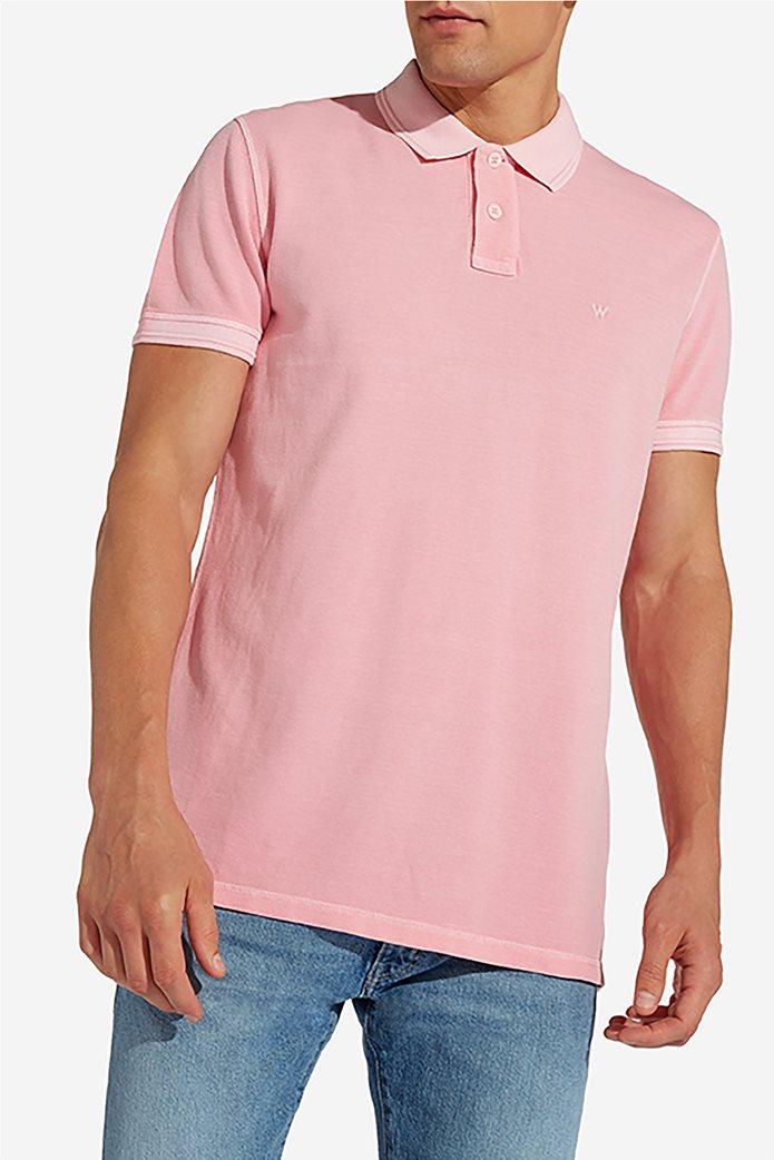 Wrangler ανδρική μπλούζα polo Overdye 0
