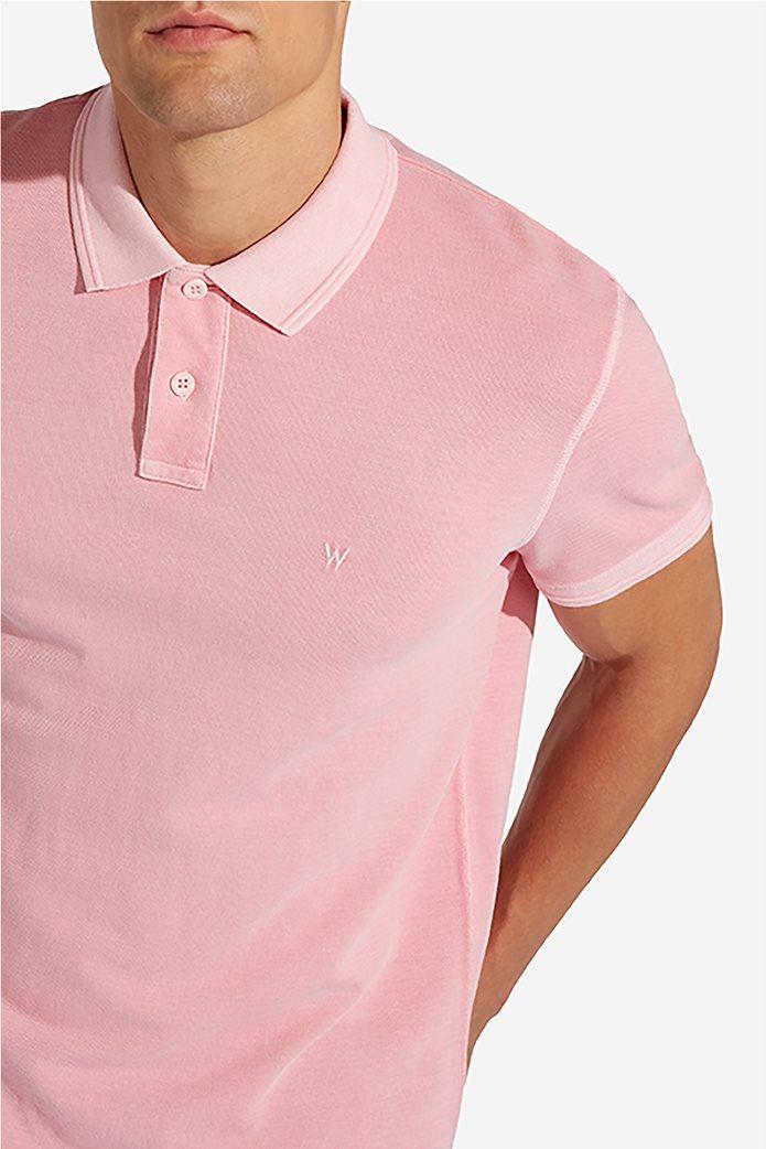 Wrangler ανδρική μπλούζα polo Overdye 1