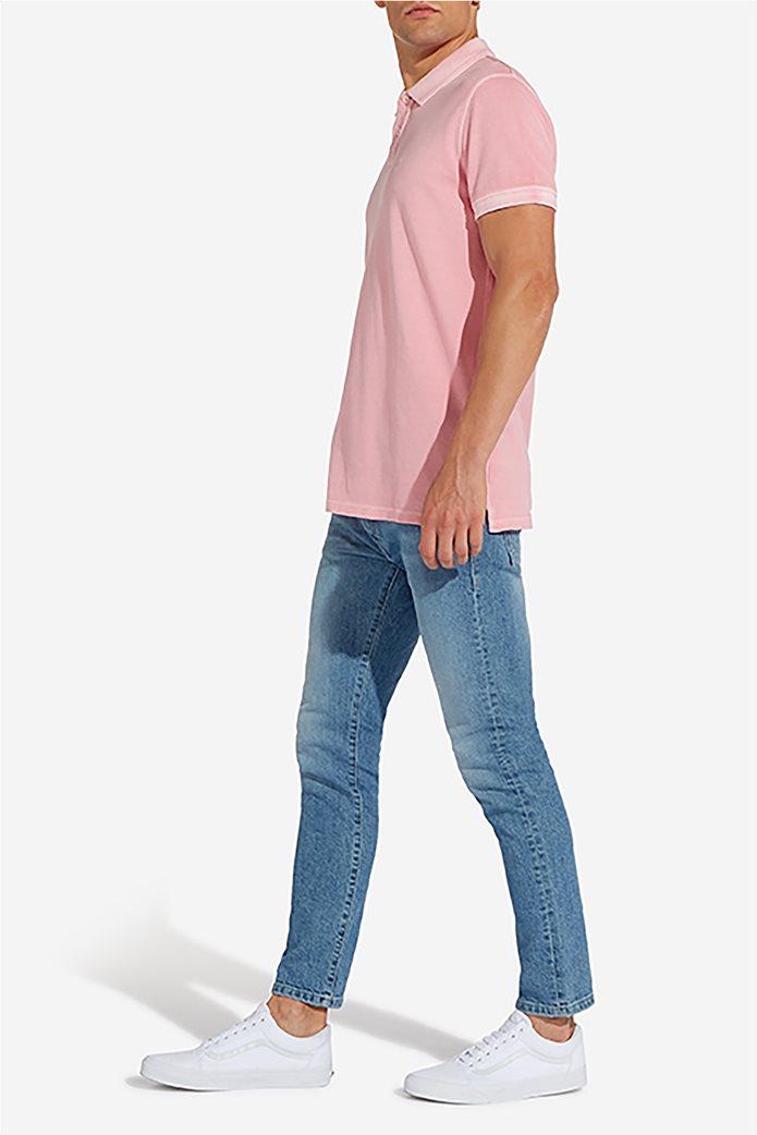 Wrangler ανδρική μπλούζα polo Overdye 2