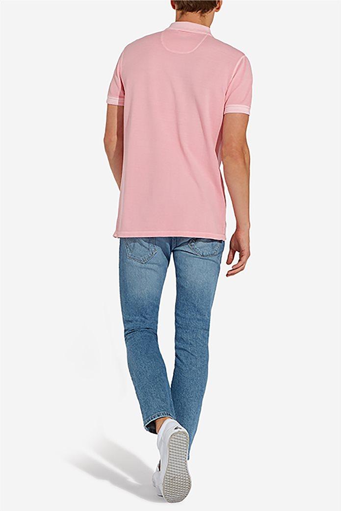 Wrangler ανδρική μπλούζα polo Overdye 3