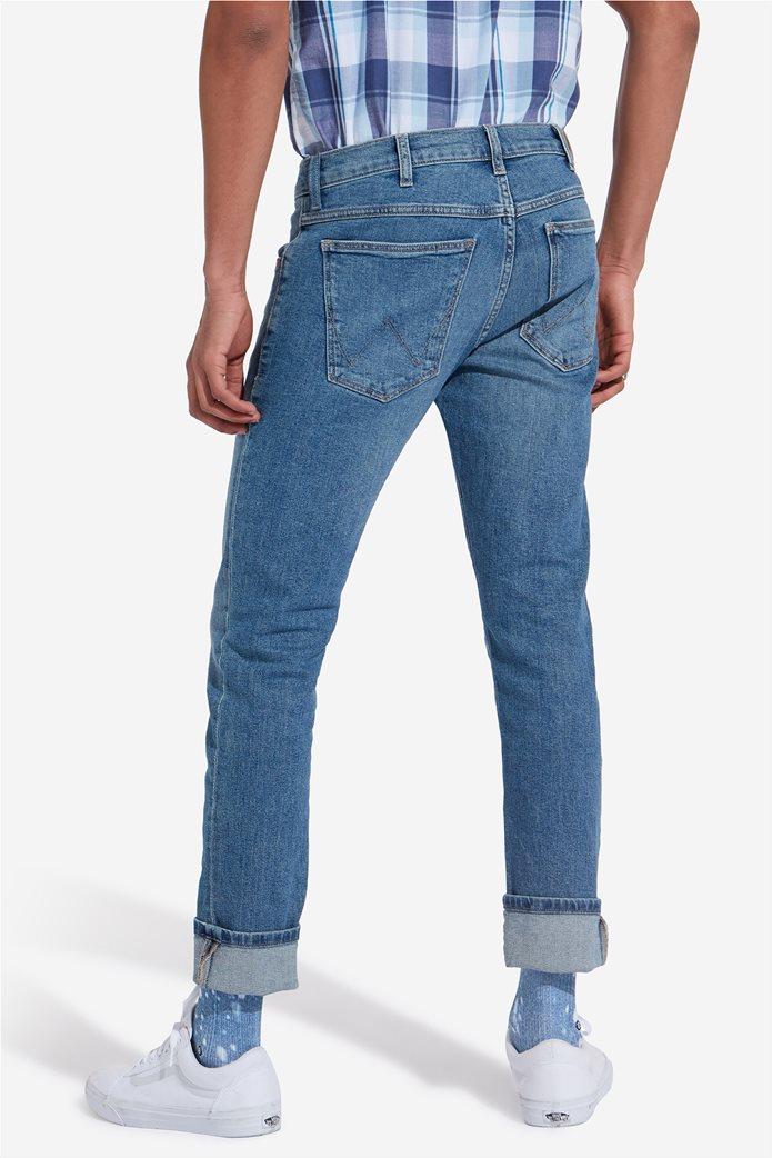Wrangler ανδρικό τζην παντελόνι Larston Blue Charm 3
