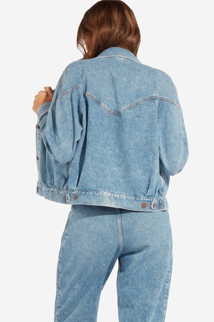 Wrangler γυναικείο τζην μπουφάν 80's Western Jacket Mama Rock 2