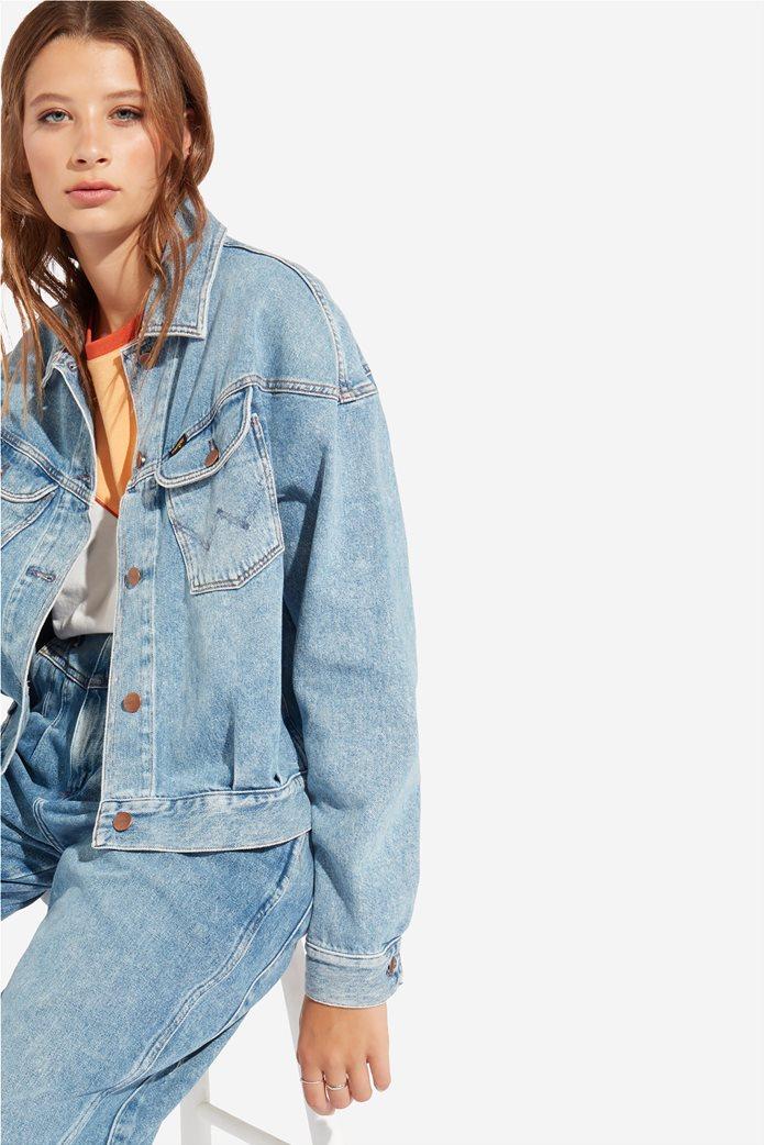 Wrangler γυναικείο τζην μπουφάν 80's Western Jacket Mama Rock 3