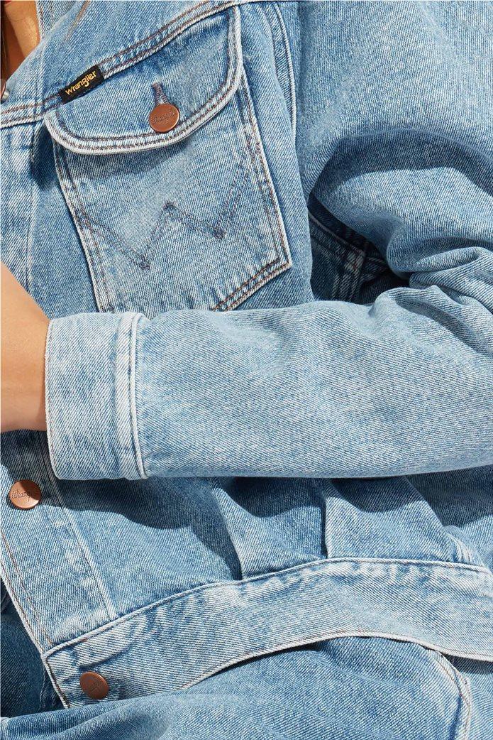 Wrangler γυναικείο τζην μπουφάν 80's Western Jacket Mama Rock 4