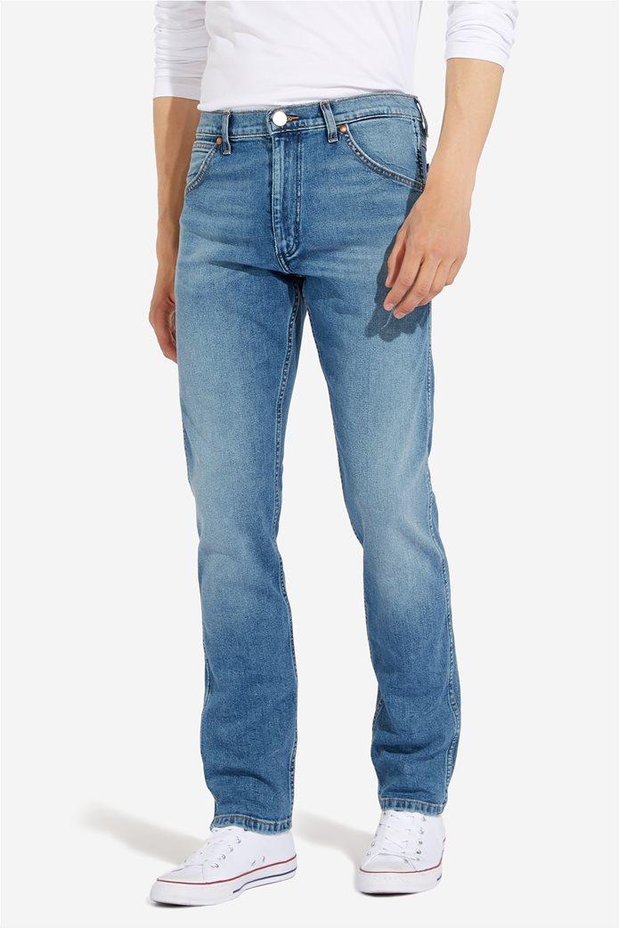 """Wrangler ανδρικό τζην πεντάτσεπο παντελόνι Slim fit """"Western 11MWZ"""" 0"""