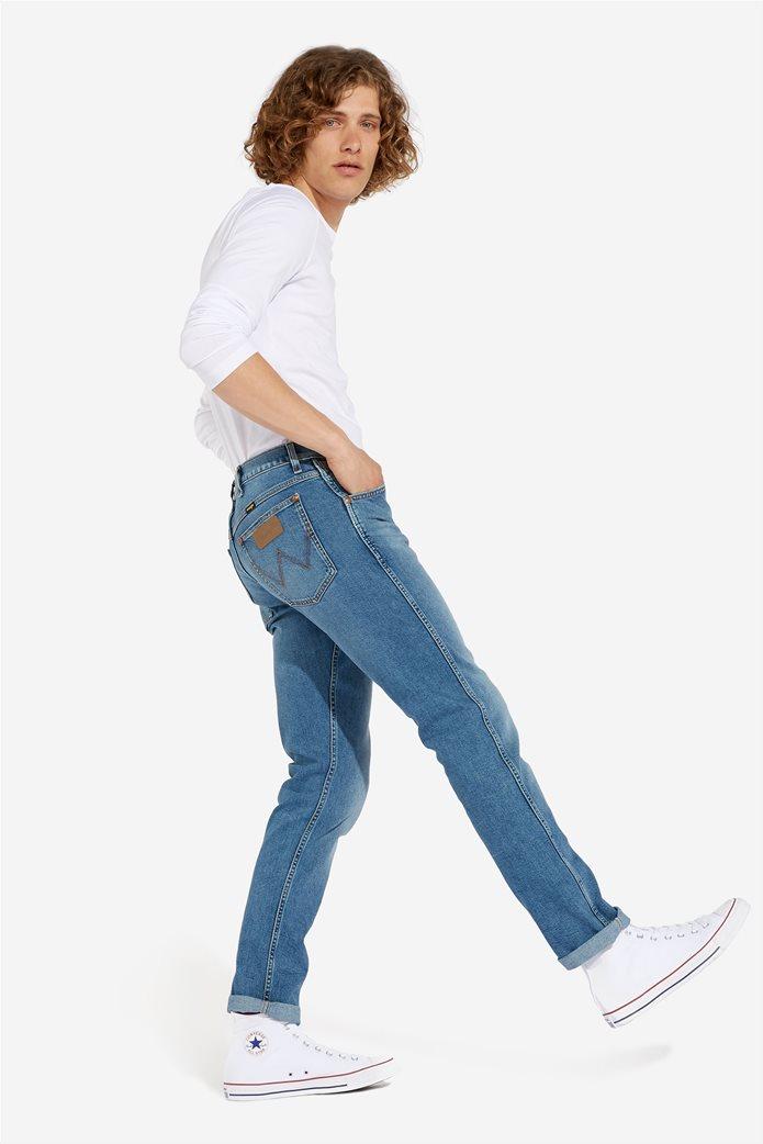 """Wrangler ανδρικό τζην πεντάτσεπο παντελόνι Slim fit """"Western 11MWZ"""" 2"""