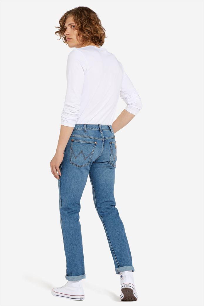 """Wrangler ανδρικό τζην πεντάτσεπο παντελόνι Slim fit """"Western 11MWZ"""" 3"""