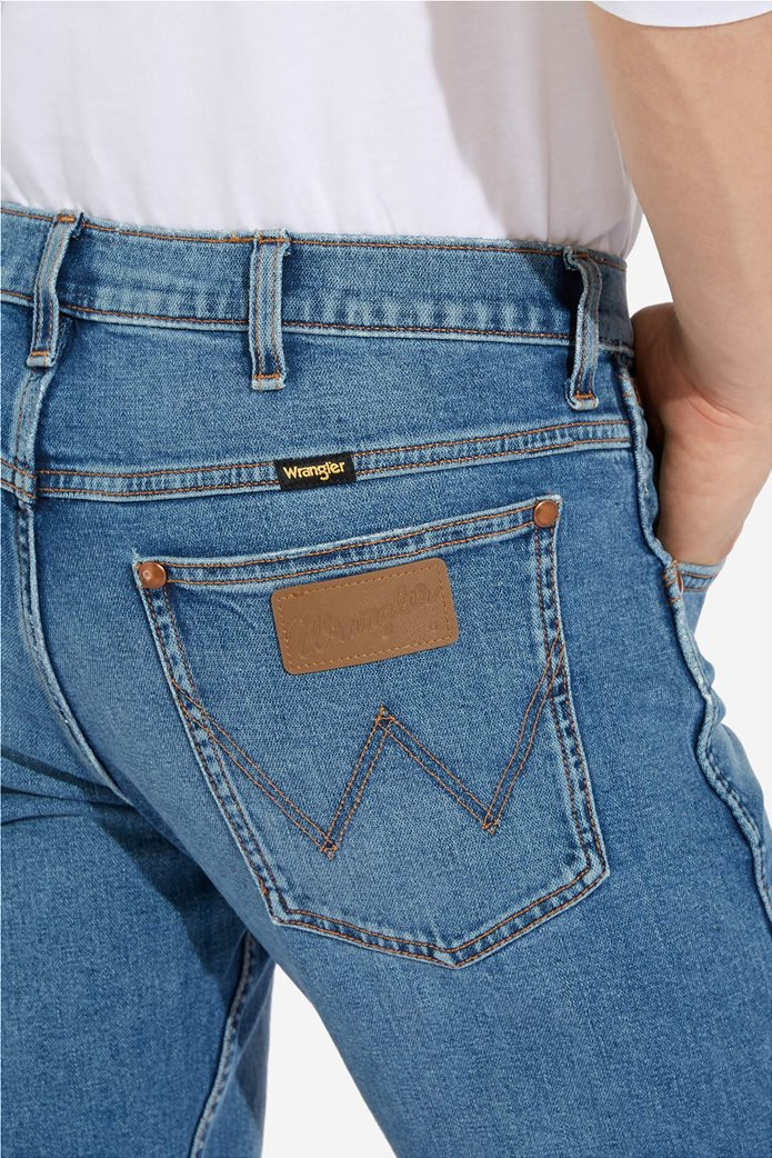 """Wrangler ανδρικό τζην πεντάτσεπο παντελόνι Slim fit """"Western 11MWZ"""" 4"""