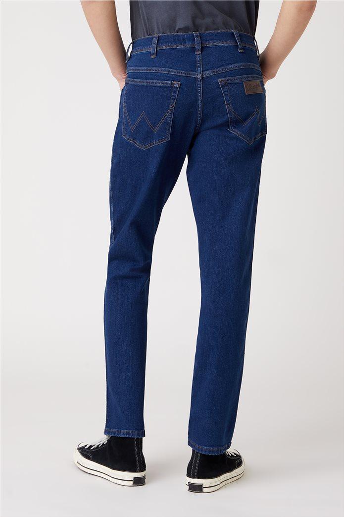 Wrangler ανδρικό τζην παντελόνι πεντάτσεπο Slim Fit ''Texas'' 3
