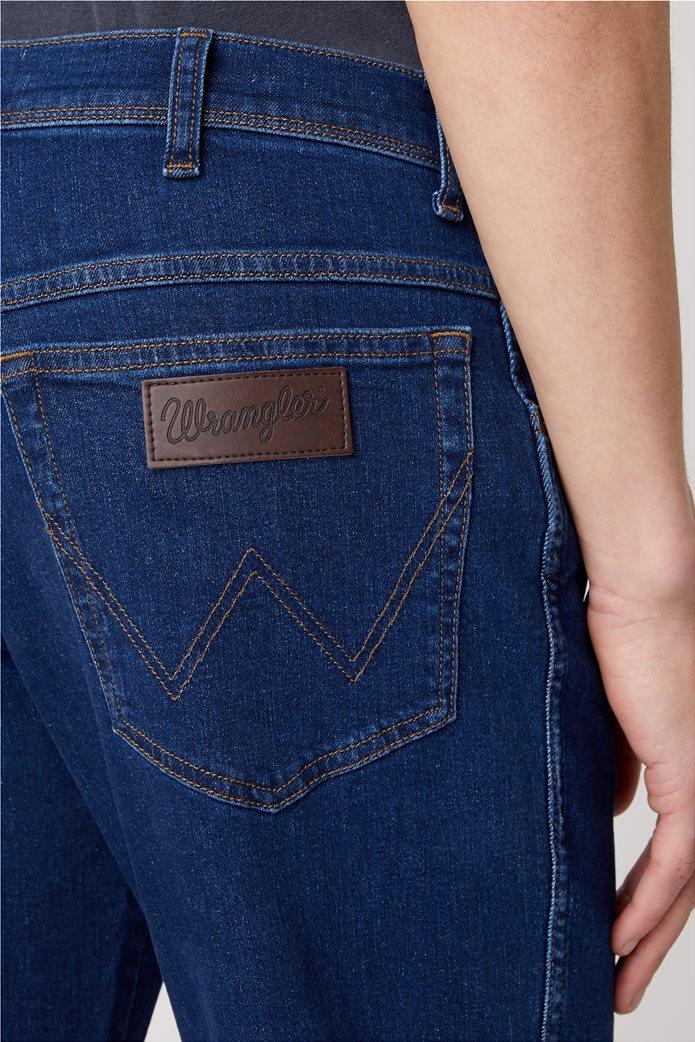 Wrangler ανδρικό τζην παντελόνι πεντάτσεπο Slim Fit ''Texas'' 4