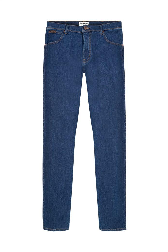 Wrangler ανδρικό τζην παντελόνι πεντάτσεπο Slim Fit ''Texas'' 5