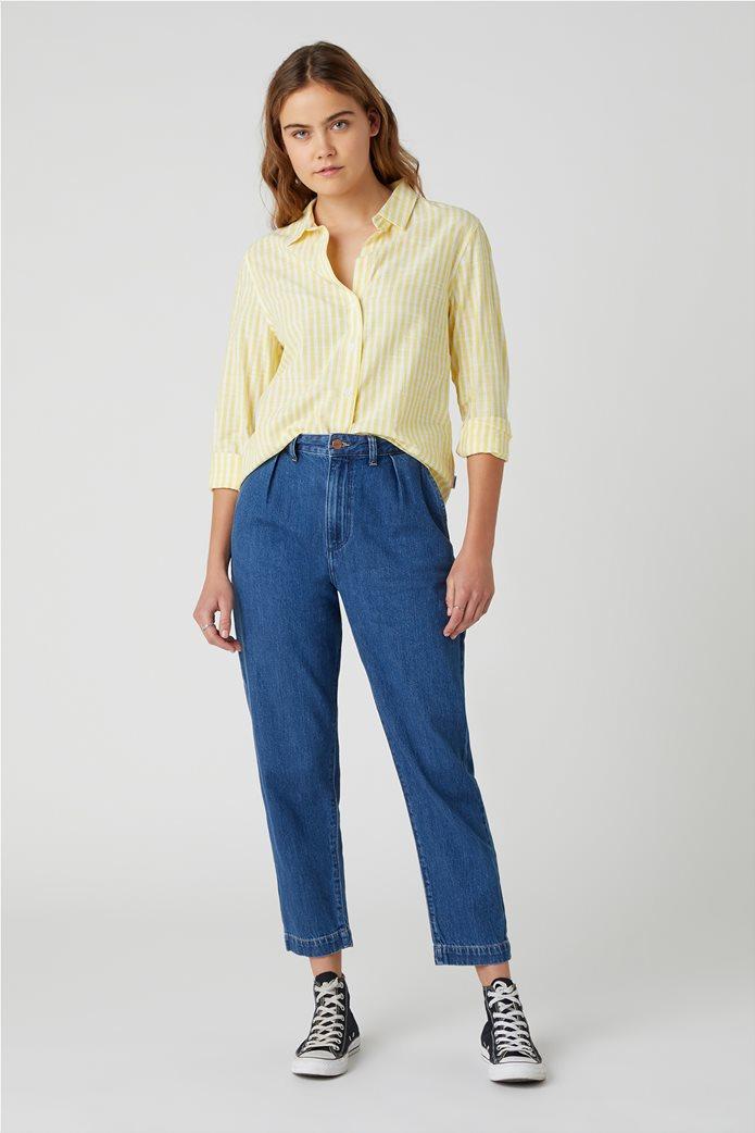 Wrangler γυναικείο πουκάμισο με ριγέ σχέδιο 1