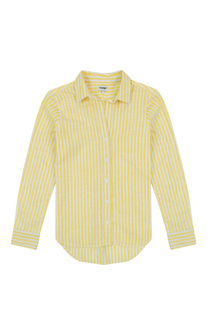 Wrangler γυναικείο πουκάμισο με ριγέ σχέδιο 4