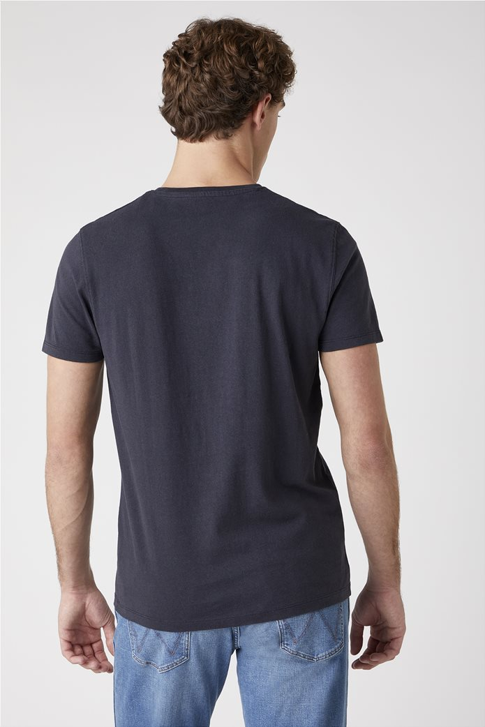 Wrangler ανδρικό T-shirt ''Cowboy'' Μαύρο 2