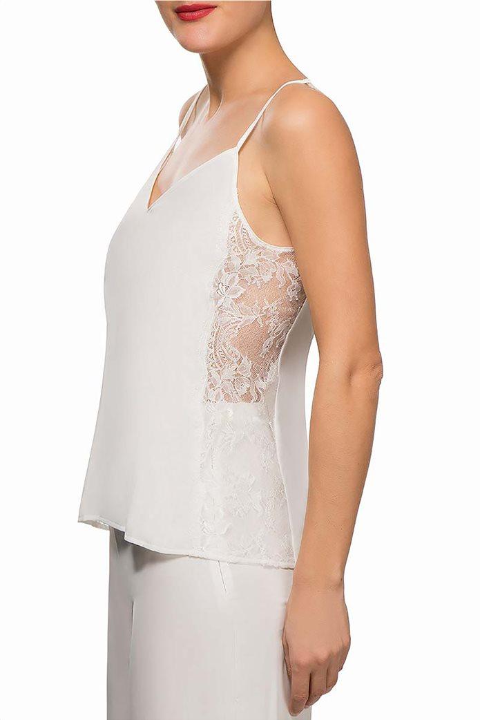 Lise Charmel γυναικείο μεταξωτό crepe μπλουζάκι lingerie Art et Volupté 1