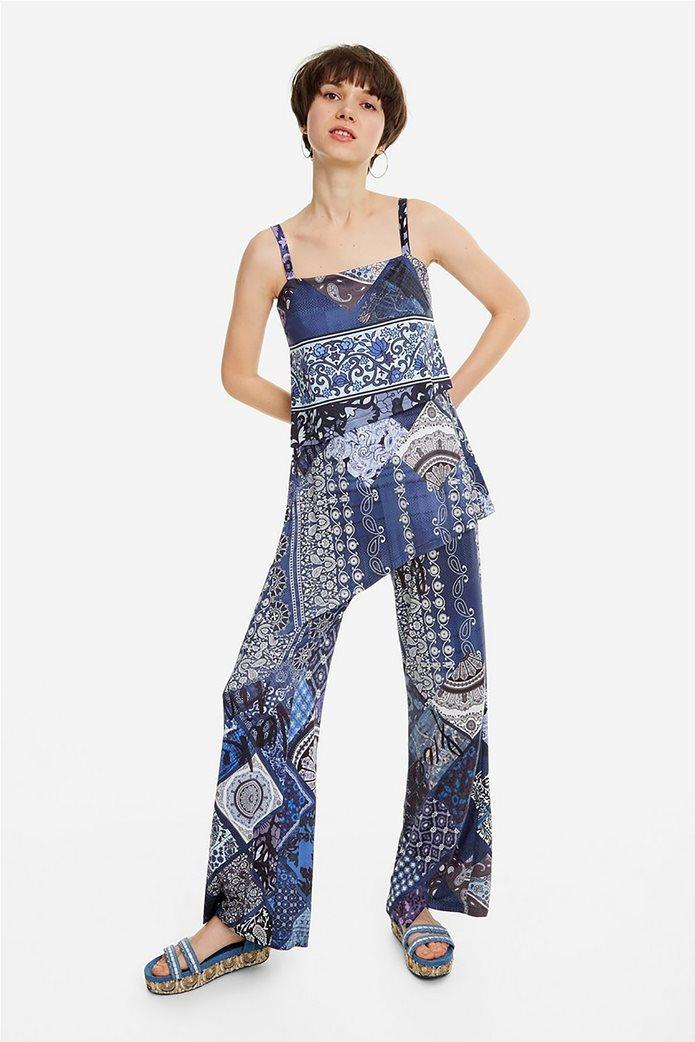 Desigual γυναικεία ολόσωμη φόρμα εμπριμέ Candice 0