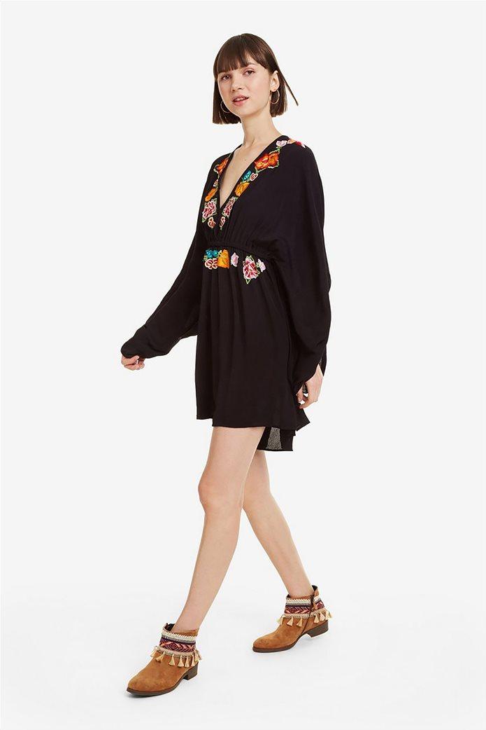 Desigual γυναικεία ολόσωμη φόρμα με κεντήματα Soraya 1