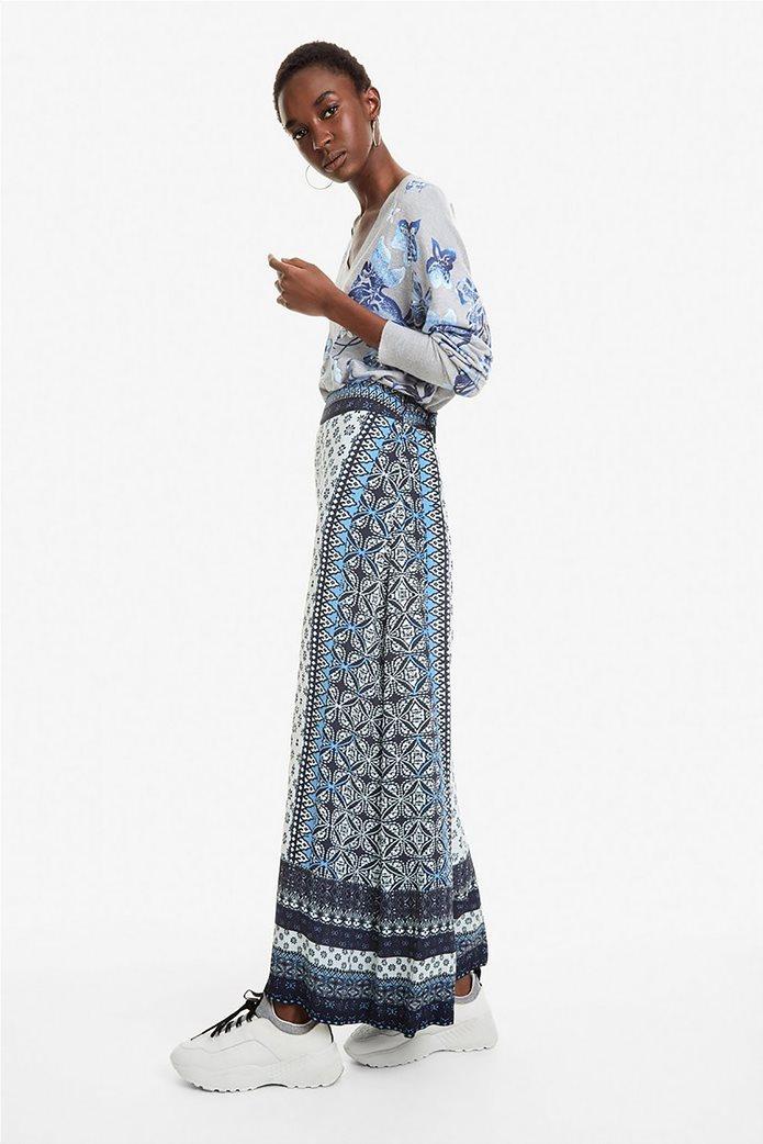 Desigual γυναικεία παντελόνα με multi prints Marian 0