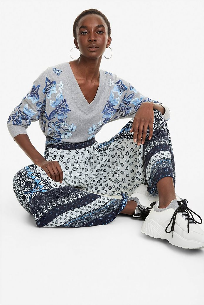 Desigual γυναικεία παντελόνα με multi prints Marian 1