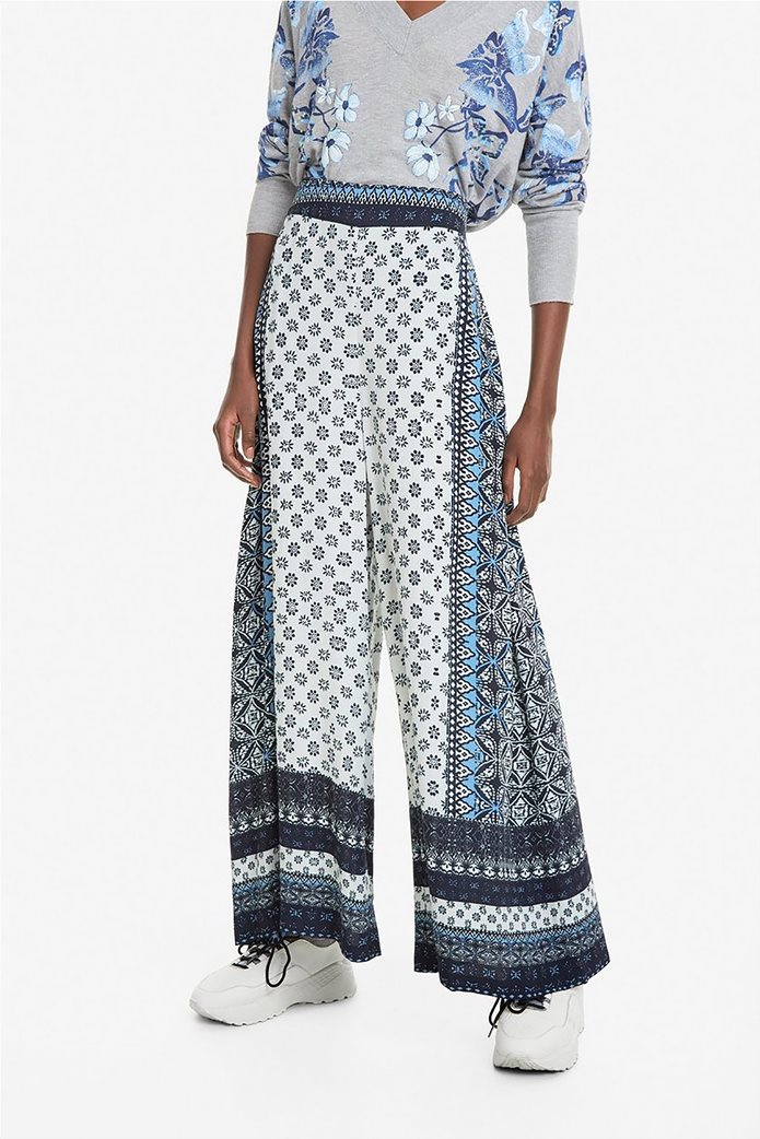 Desigual γυναικεία παντελόνα με multi prints Marian 2