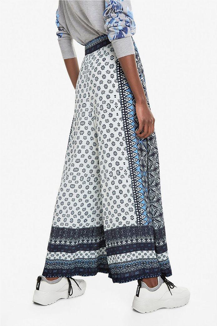Desigual γυναικεία παντελόνα με multi prints Marian 3