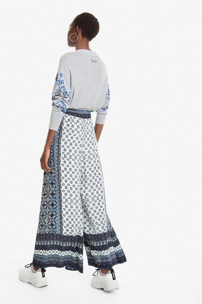 Desigual γυναικεία παντελόνα με multi prints Marian 4