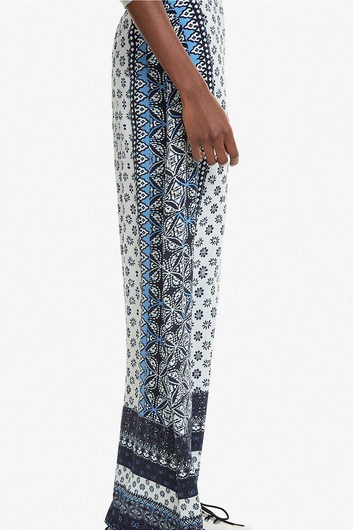 Desigual γυναικεία παντελόνα με multi prints Marian 5