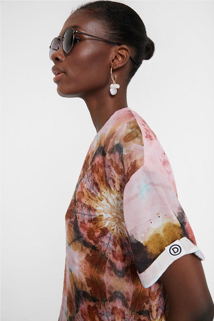 "Desigual γυναικεία μπλούζα Floral Effect ""Βlus Padua"" 1"