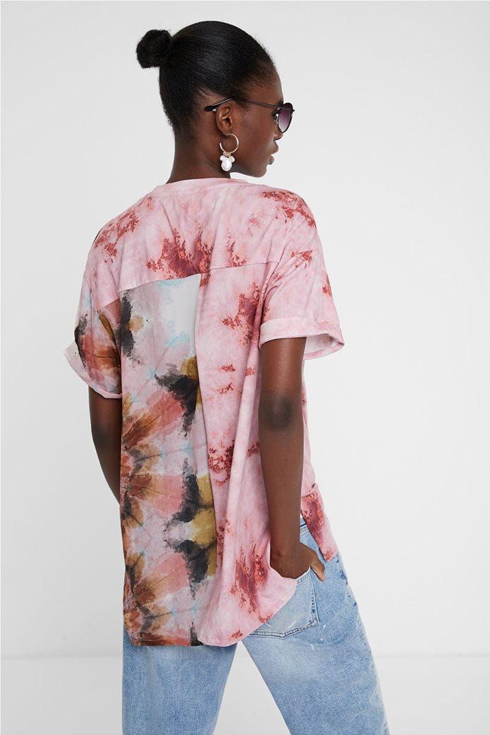 "Desigual γυναικεία μπλούζα Floral Effect ""Βlus Padua"" 3"