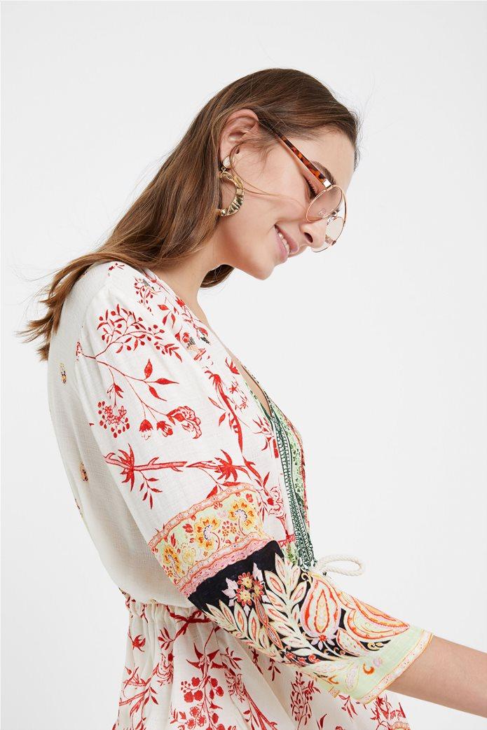 "Desigual γυναικεία μπλούζα με ethnic prints ""Mantua"" 1"
