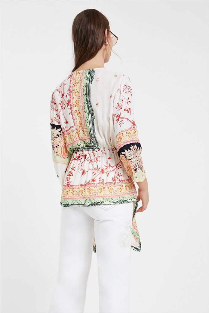 "Desigual γυναικεία μπλούζα με ethnic prints ""Mantua"" 2"